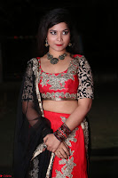 Sirisha Dasari in Red Ghagra Backless Choli ~  013.JPG