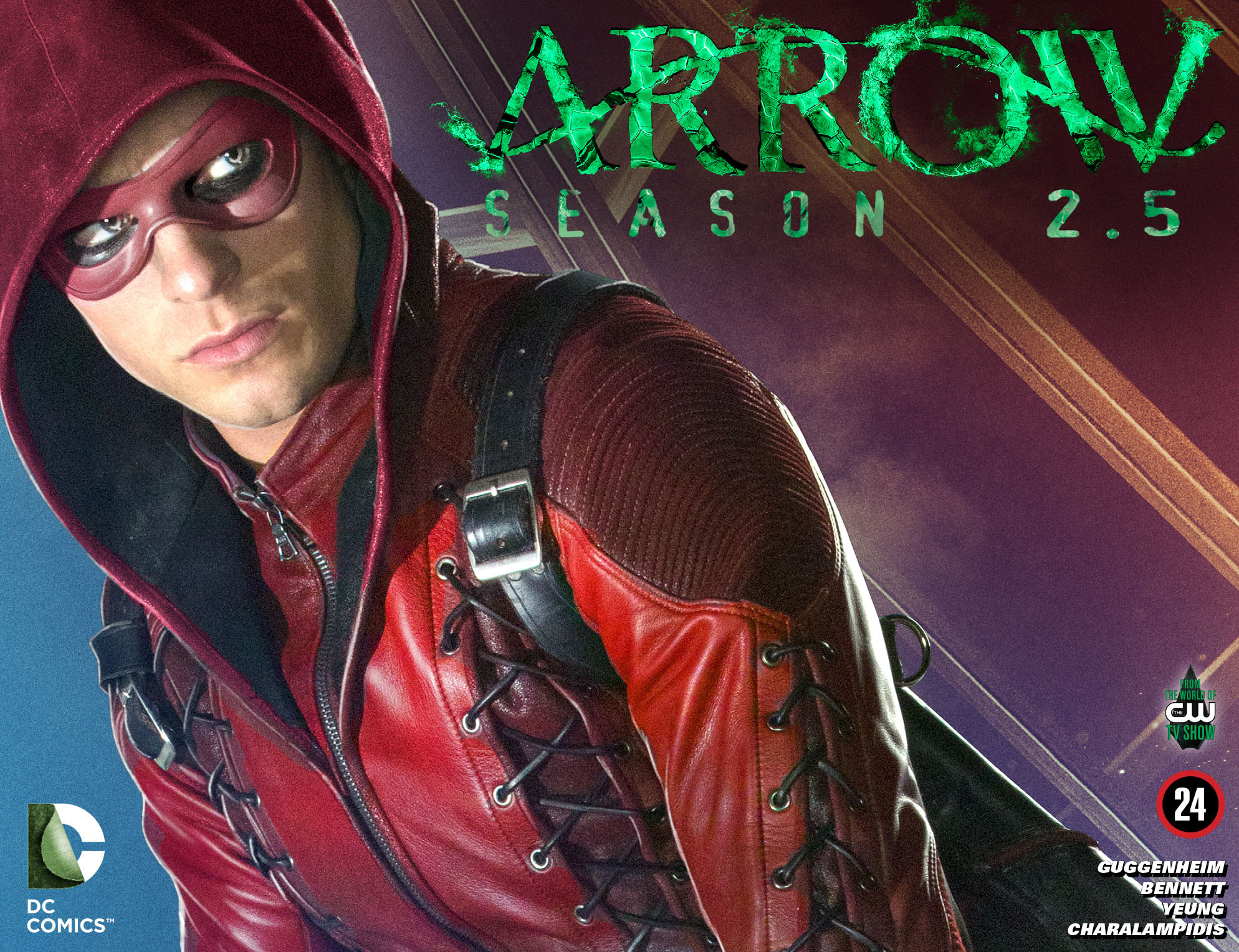 Read online Arrow: Season 2.5 [I] comic -  Issue #24 - 1