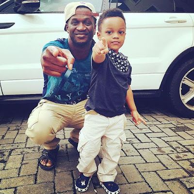 Andre's Psquare Paul Okoye celebrates son birthday