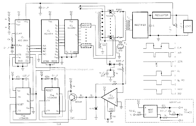 Pre-regulated High Voltage Power Supply Circuit Diagram
