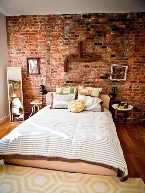 Inspiracje W Moim Mieszkaniu ściana Z Cegły We Wnętrzach