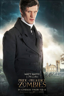 matt smith,傲慢與偏見與殭屍,Pride and Prejudice and Zombies
