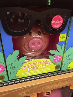 Marks & Spencer Globetrotting Percy Pig Egg