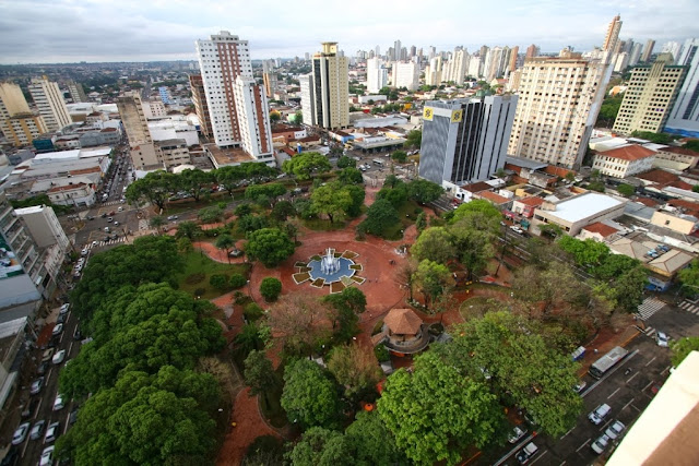 Foto de Campo Grande, capital do Mato Grosso do Sul