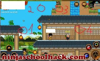 ninja school auto click android