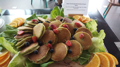 resep dorayaki green tea