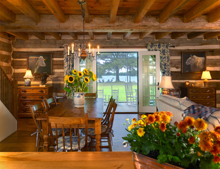 Eye For Design: Decorating Your Log Home