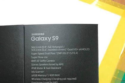 Bocoran Terbaru Spesifikasi Smartphone Samsung Galaxy S9