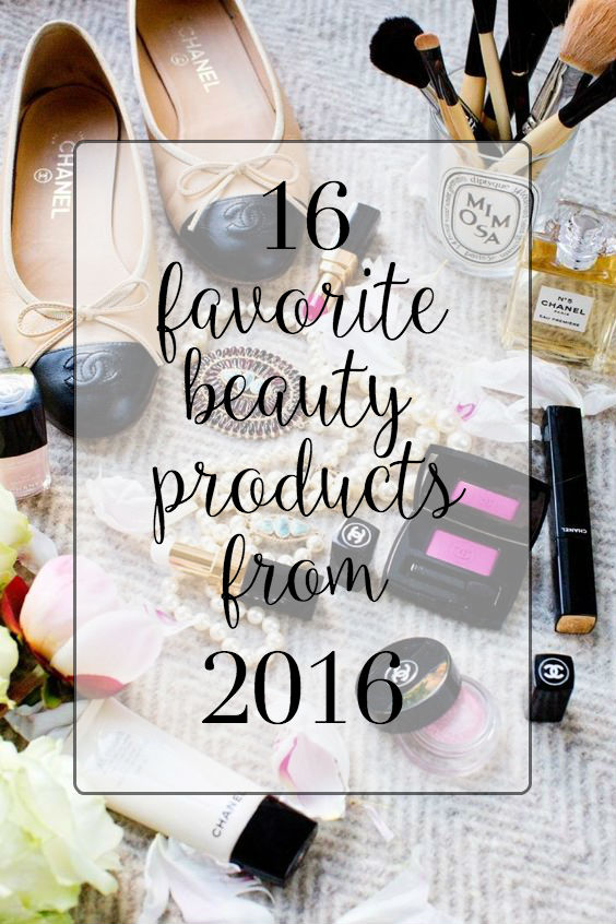 favorite products 2016, best buys of 2016, best in beauty 2016