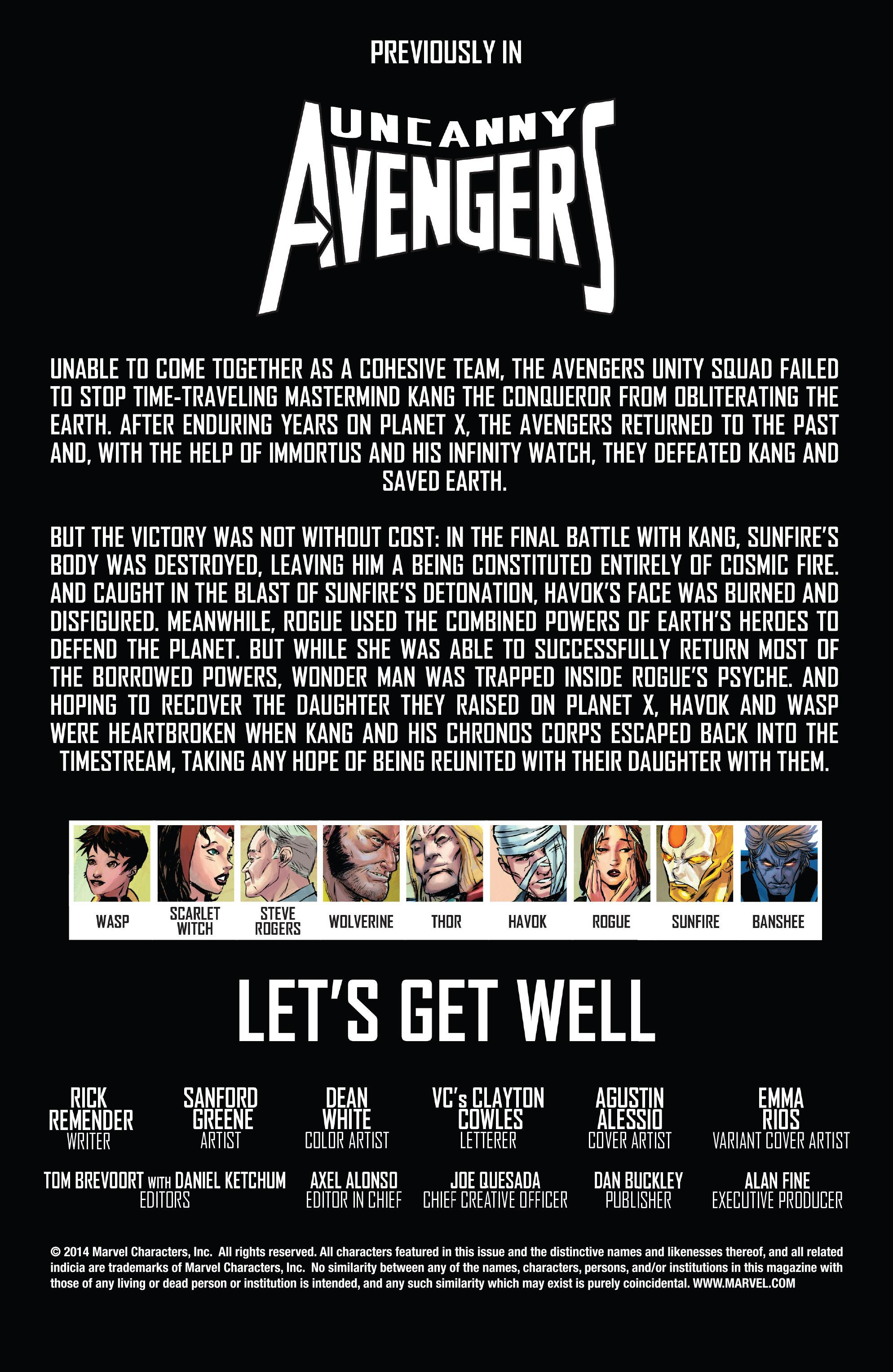 Read online Uncanny Avengers (2012) comic -  Issue #23 - 2