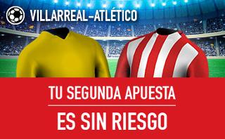sportium Villarreal vs Atletico segunda apuesta sin riesgo 12 diciembre