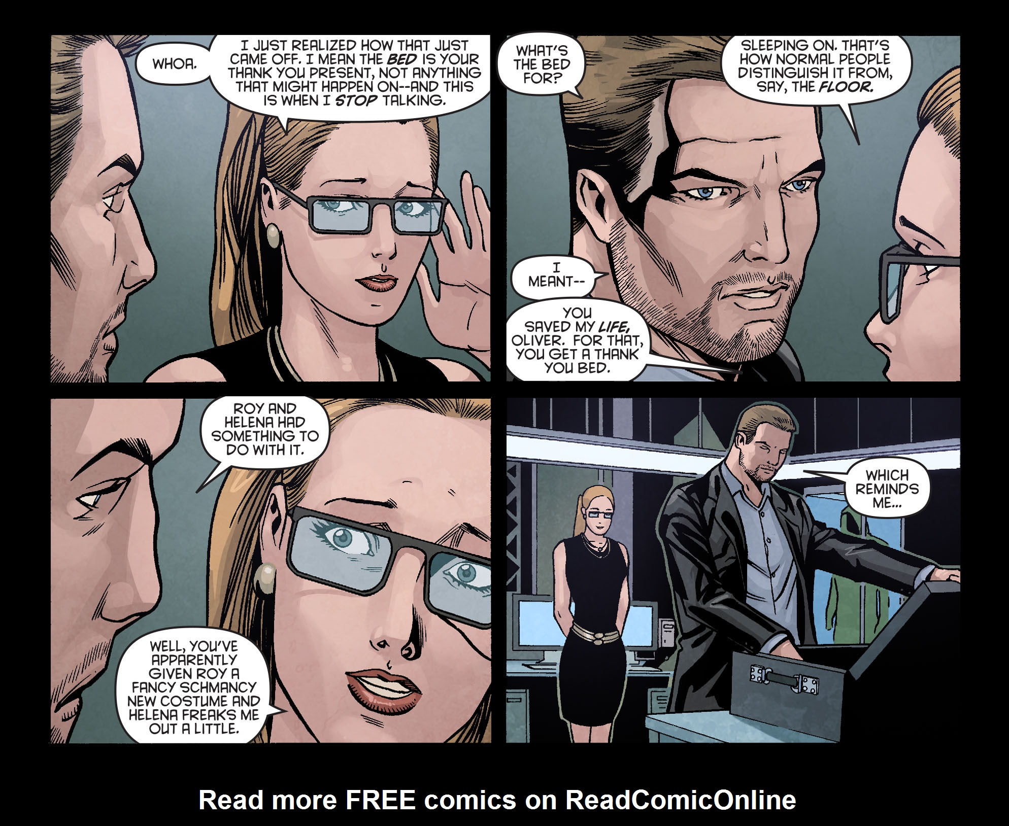 Read online Arrow: Season 2.5 [I] comic -  Issue #16 - 20