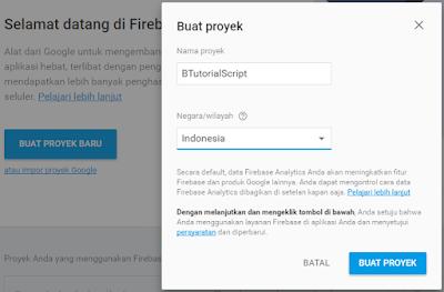 Hosting Script CSS atau Javascript di Firebase