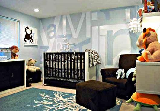Model Desain Kamar Bayi dan Orang Tua