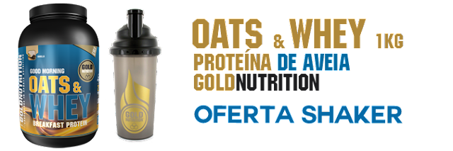 Oats & Whey - Breakfast Protein GoldNutrition
