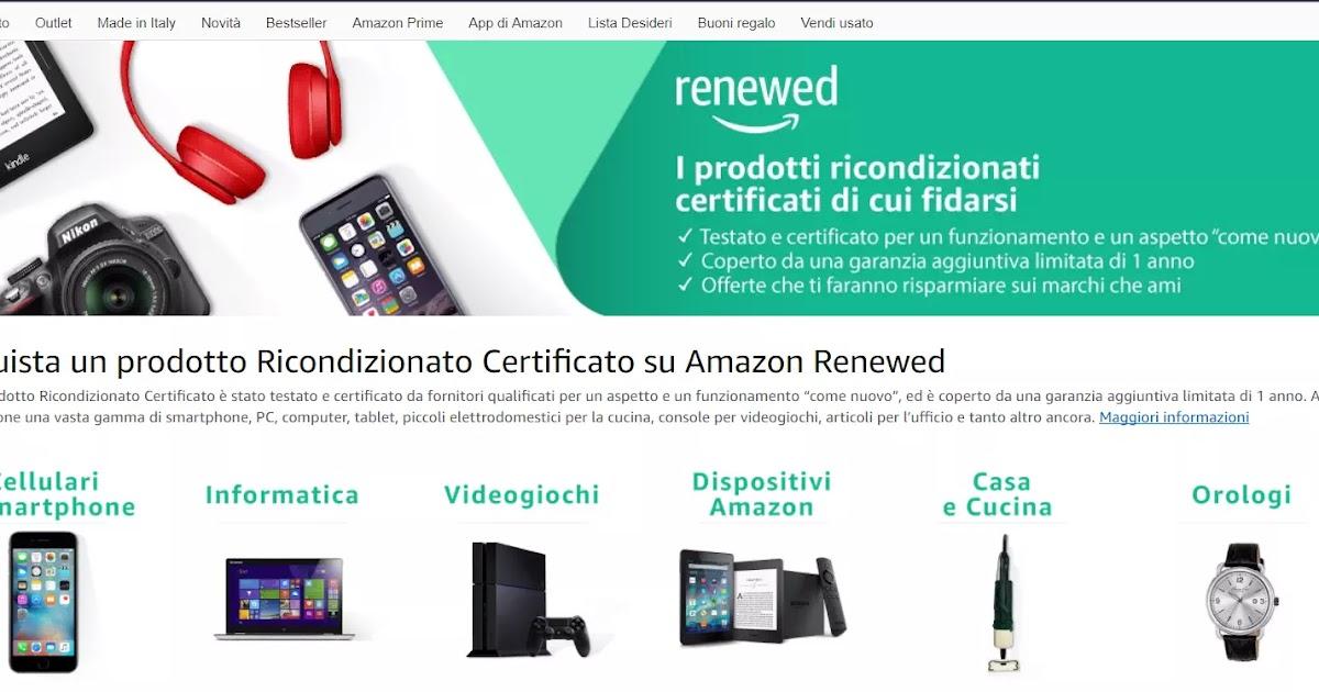 Occasioni su computer e cellulari ricondizionati con for Amazon offerte cellulari