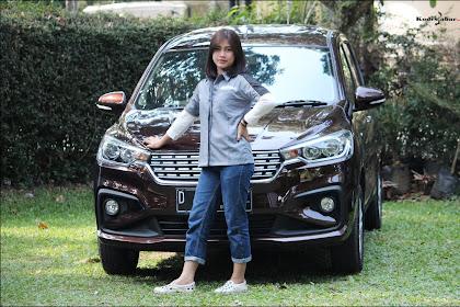 Serunya Test Drive All New Ertiga, Melibas Kemacetan dan Tanjakan Terjal di Bandung