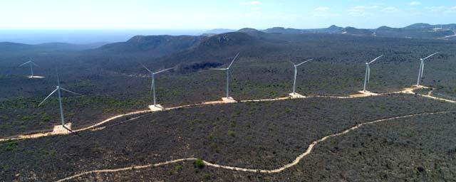 ENGIE é autorizada a operar novos parques no Conjunto Eólico Umburanas