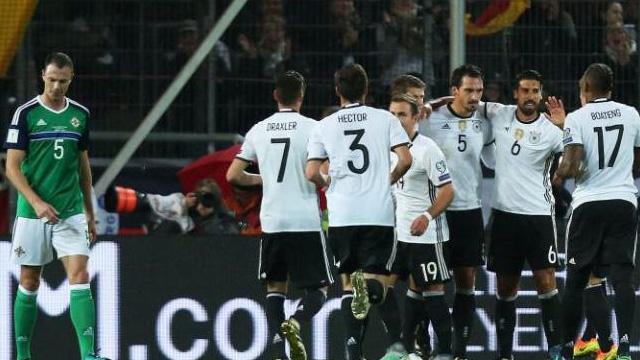[Video] Cuplikan Gol Jerman 2-0 Irlandia Utara (Kualifikasi Piala Dunia 2018)