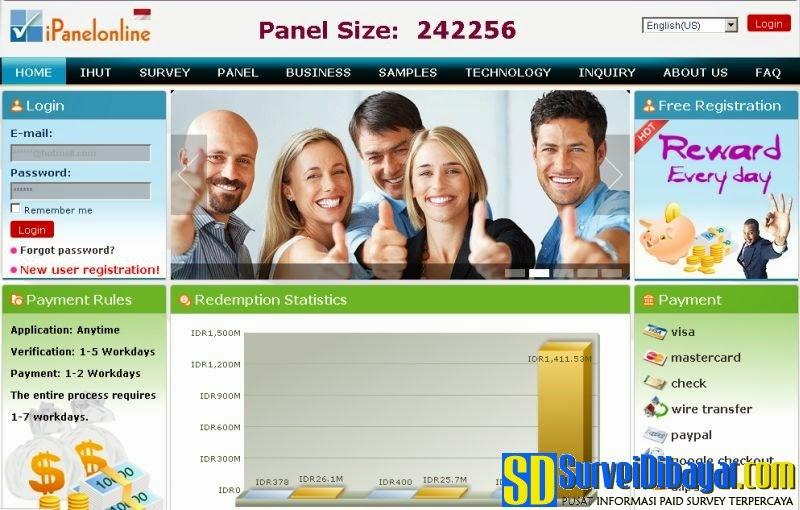 Website iPanelOnline   SurveiDibayar.com
