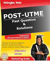 FUTO Post-UTME Past Questions & Answers 2016