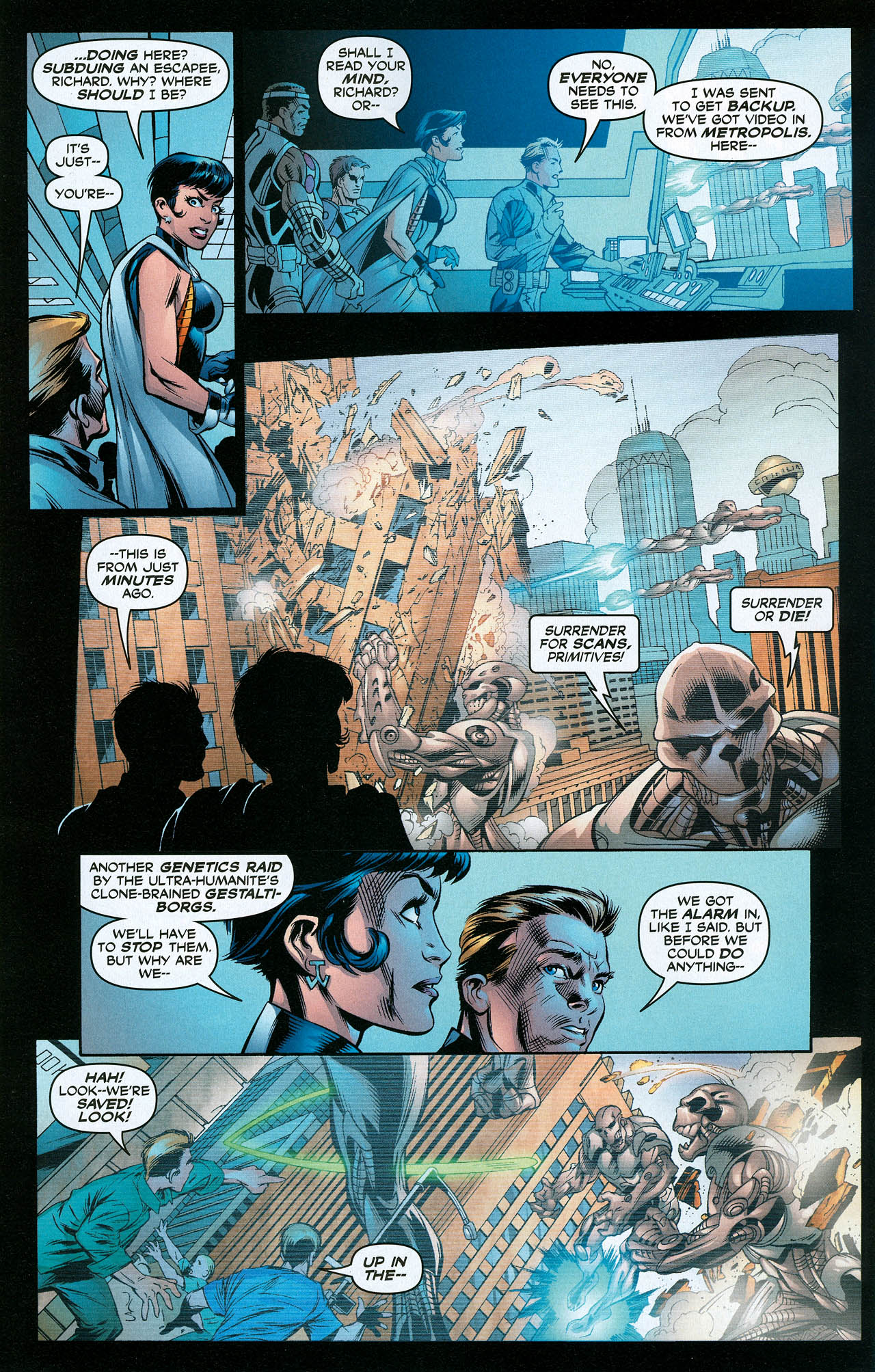 Read online Trinity (2008) comic -  Issue #22 - 28