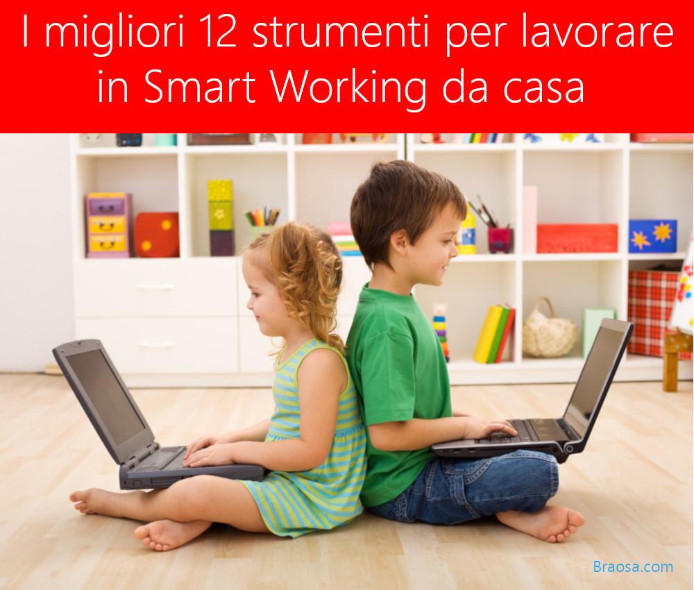 Migliori strumenti per lavorare da casa in smart working