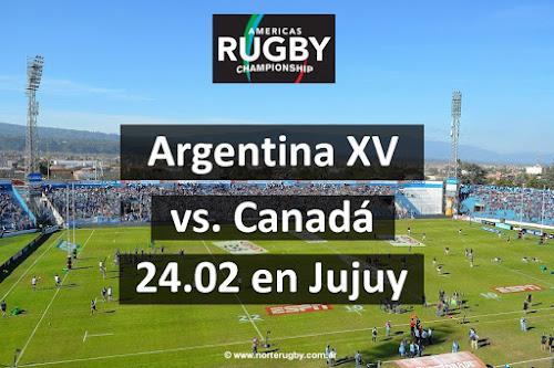 Venta de entradas para Argentino XV - Canadá en Jujuy