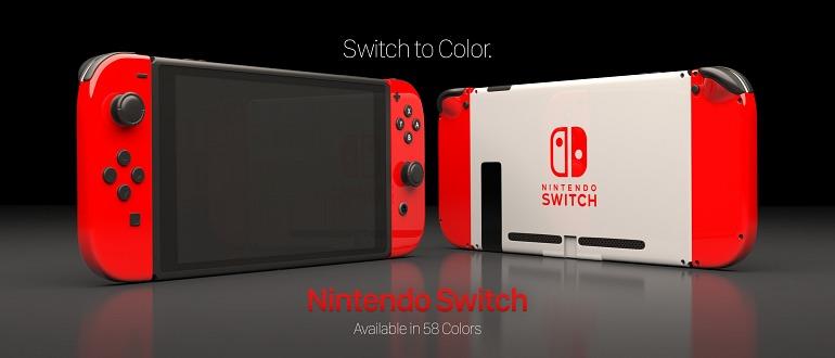 ¡Tienda permite personalizar la Nintendo Switch o PlayStation 4 Pro del color que quieras!