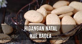Hidangan Natal Kue Bagea