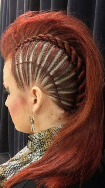 gorgeous red updos - haircut
