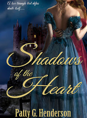 Shadows of the Heart by Patty G. Henderson, Gothic Romance, Lesbian Romance, available at Amazon