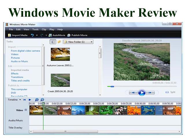 Windows Movie Maker Review