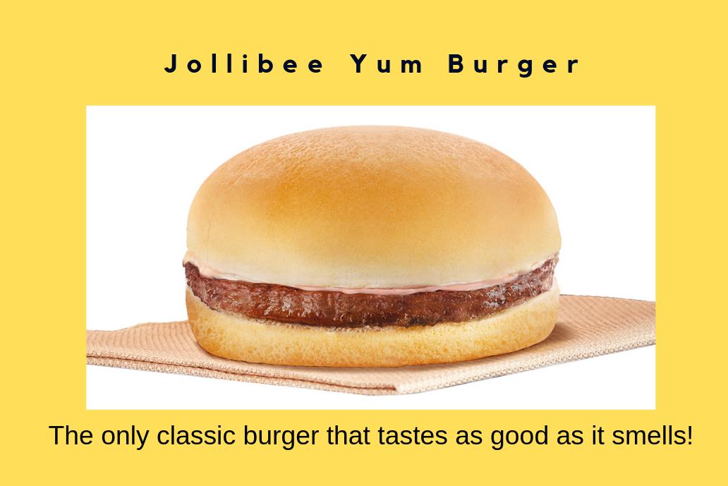 jollibee yum burger