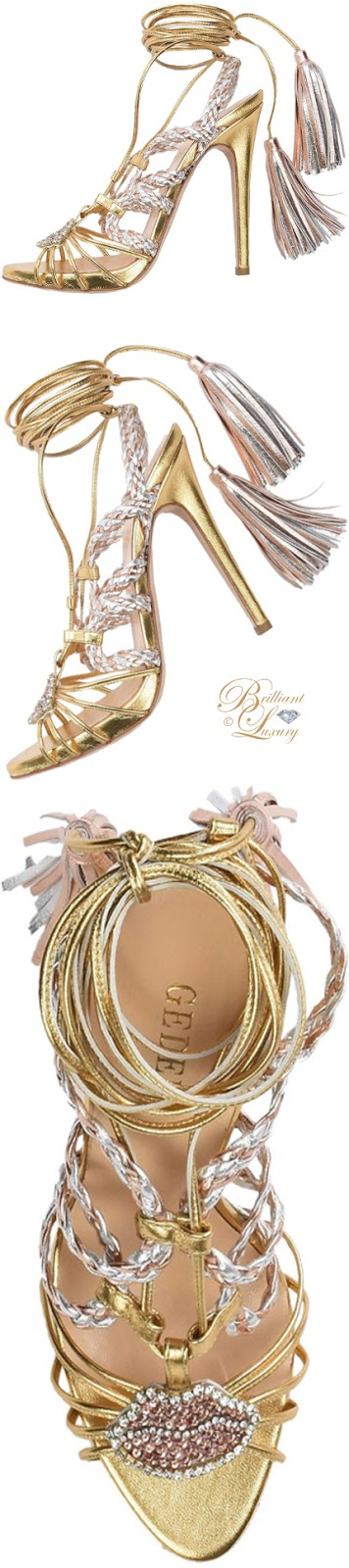 Brilliant Luxury ♦  Gedebe sandals