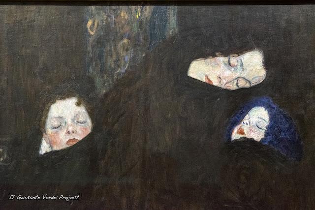 Gustav Klimt: Madre con dos Hijos - Belvedere Museum, Viena por El Guisante Verde Project