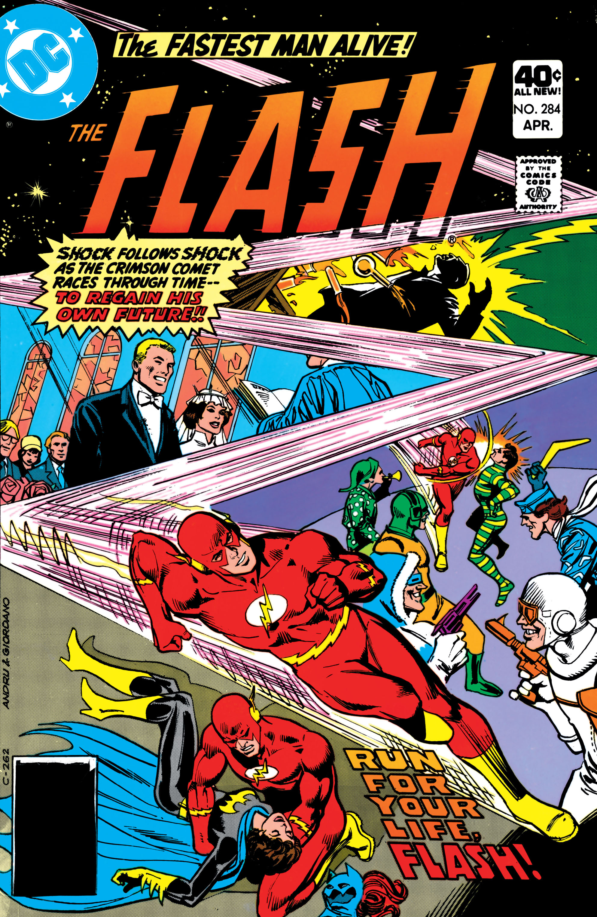 The Flash (1959) 284 Page 1