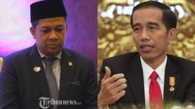 Fahri Buat Surat Terbuka ke Jokowi soal Tuduhan Korupsi dan Nilai Tukar yang Semakin Letih