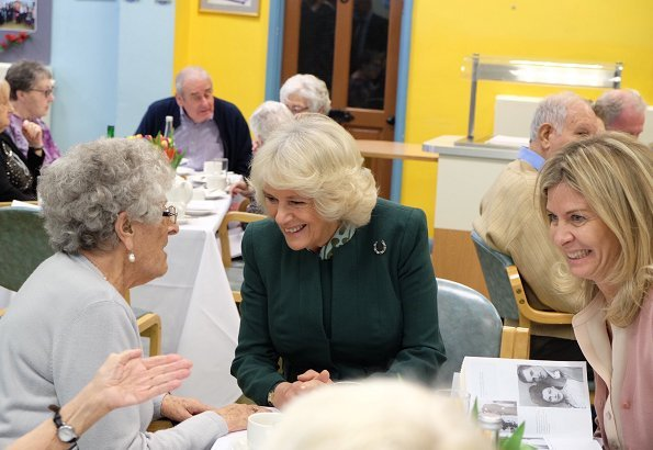 Duchess of Cornwall visited the Jewish Care's Brenner Centre