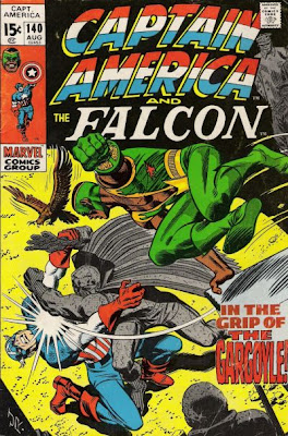 Captain America and the Falcon #140, the Grey/Gray Gargoyle