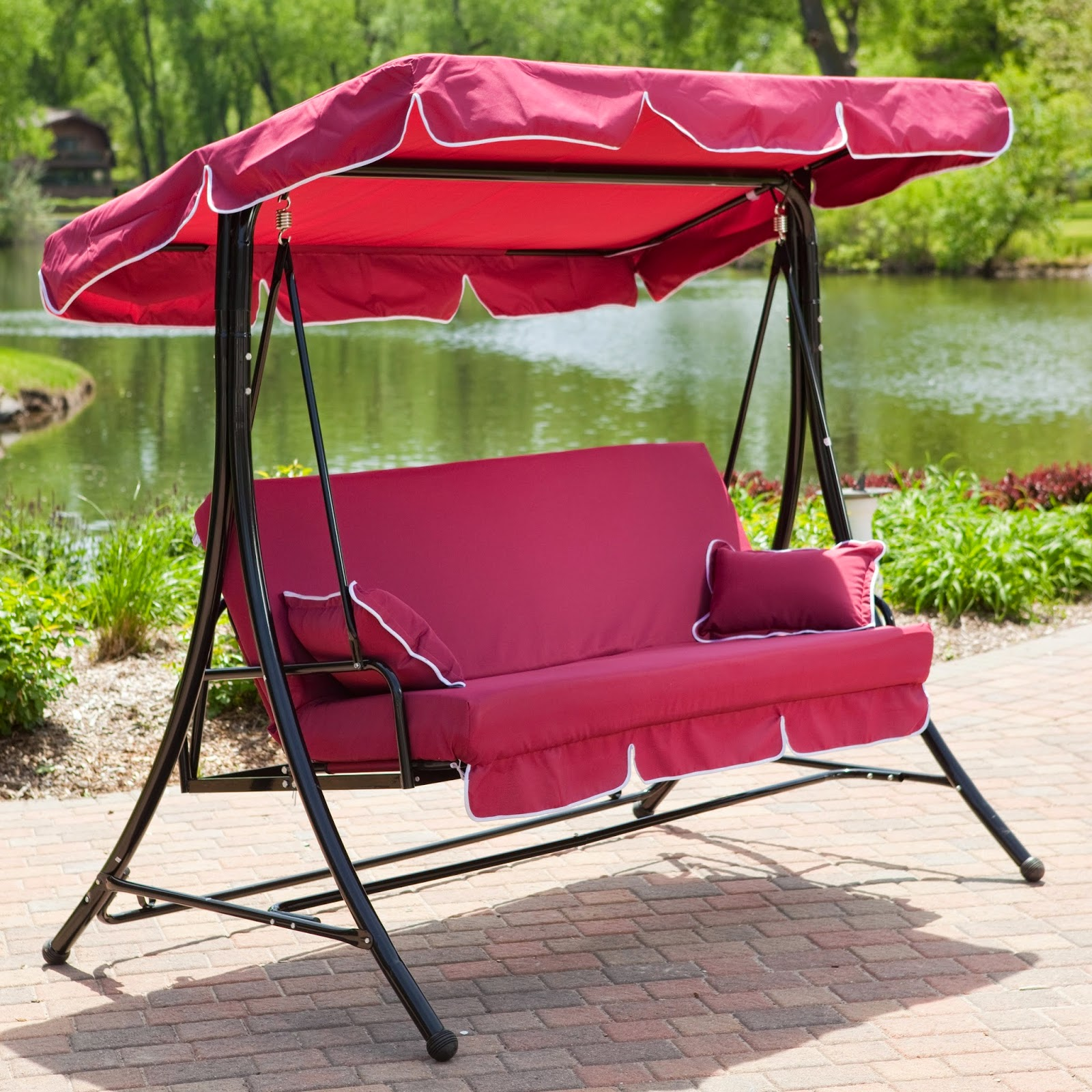 Patio Glider Swing With Canopy ~ Instant Knowledge