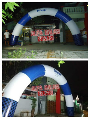 Balon Gate Parasut Serambi Aceh