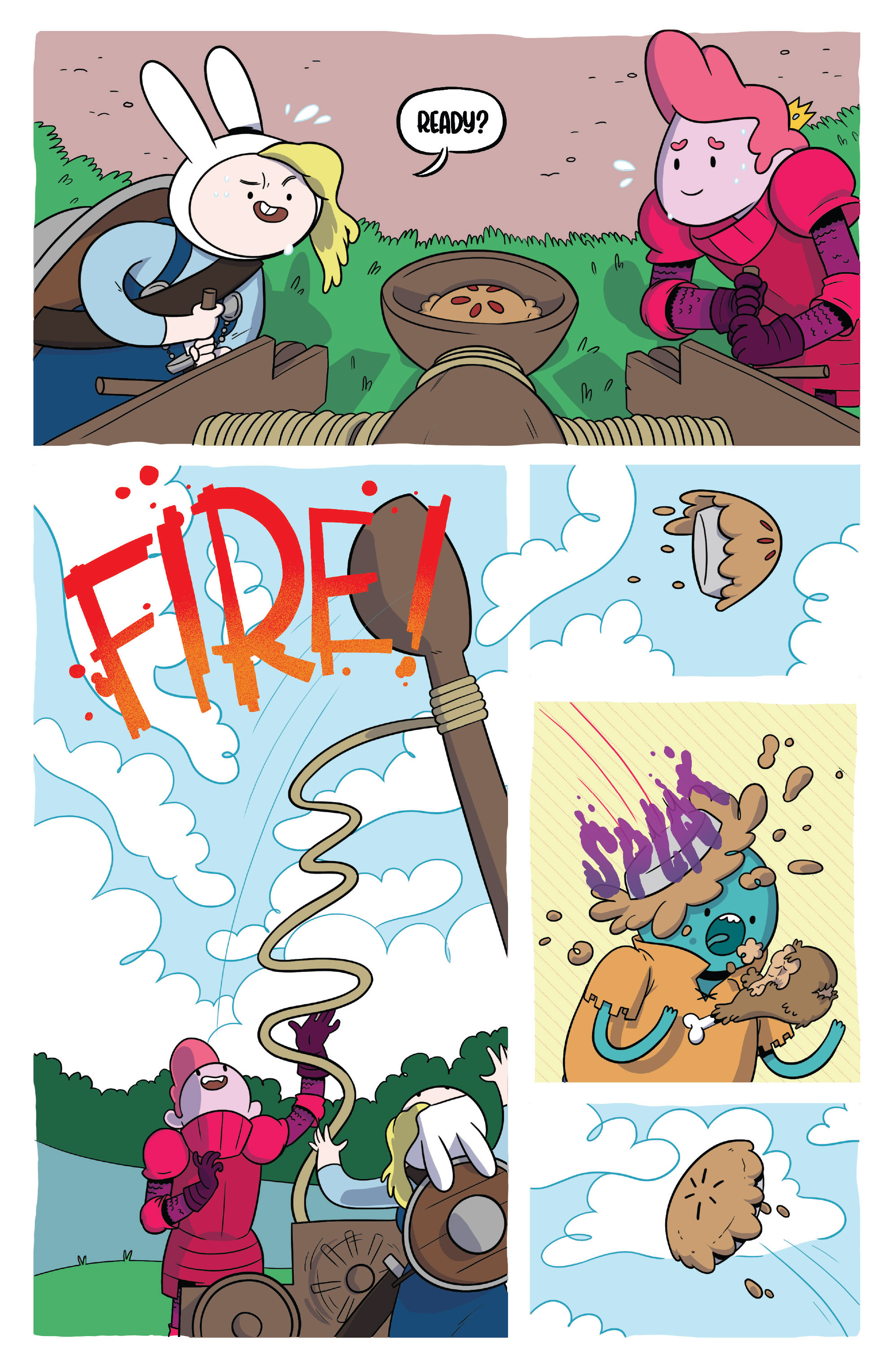 Read online Adventure Time Fionna and Cake Card Wars comic -  Issue #3 - 17