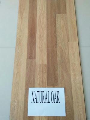 lantai parket eazyfloor type natural oak
