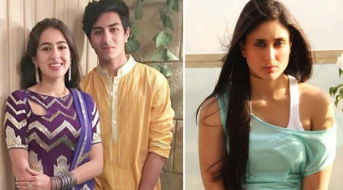 sara ali khan - kareena kapoor- back to bollywood