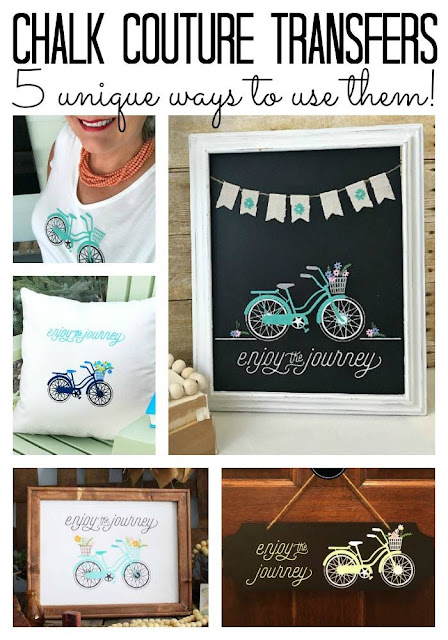 Vintage Paint and more.... 5 unique ways to use the Chalk Couture enjoy the journey transfer