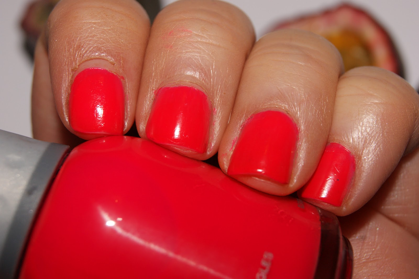 Orly Passion Fruit Nail Polish Review The Sunday Girl