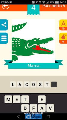 Iconica Italia Pop Logo Quiz soluzione pacchetto 5 livelli 4-75