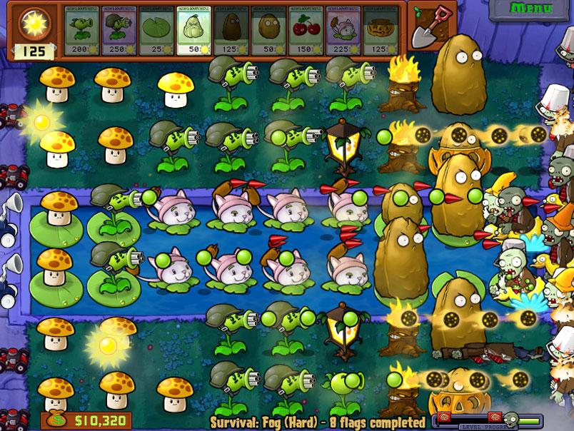 Bing Bang Bong ッ Popcap Games Plants Vs Zombie