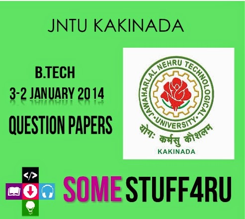 jntuk-3-2-btech-january-2014-question-papers
